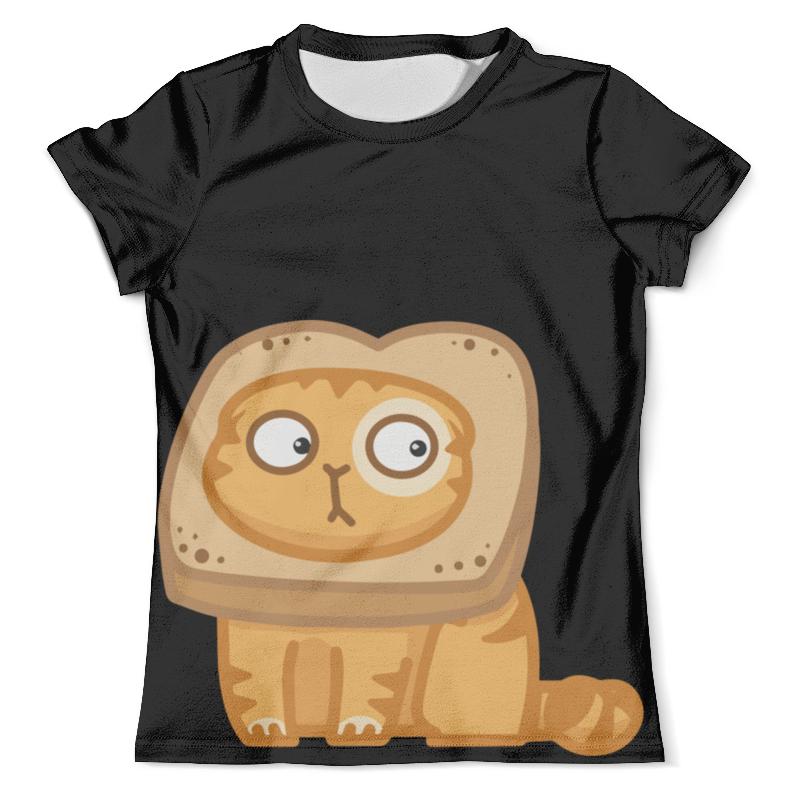 Футболка с полной запечаткой (мужская) Printio Кот персик / cat persik футболка для беременных printio кот персик