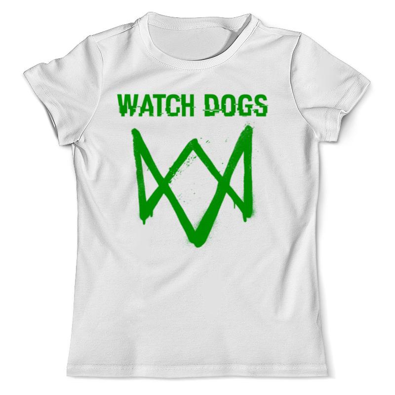Футболка с полной запечаткой (мужская) Printio Watch dogs футболка с полной запечаткой для девочек printio watch dogs