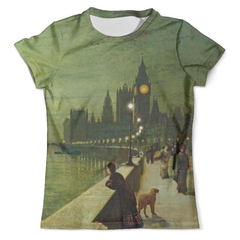 Футболка с полной запечаткой (мужская) Printio Вечерний лондон футболка с полной запечаткой для девочек printio вечерний лондон