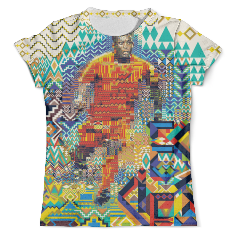 Футболка с полной запечаткой (мужская) Printio Футбольная мозайка футболка с полной запечаткой мужская printio футболист