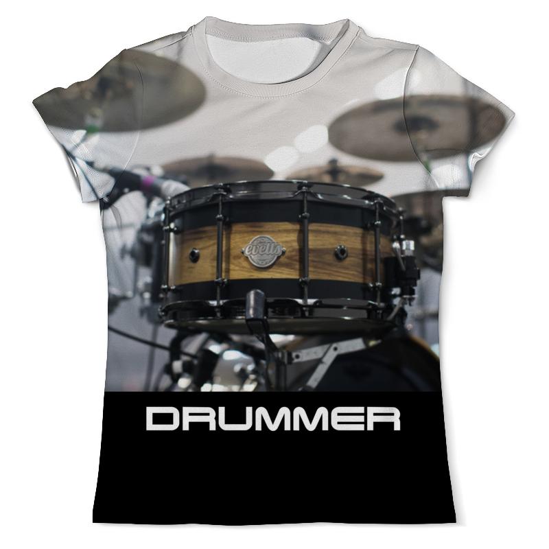 Printio Drums футболка с полной запечаткой мужская printio drums travis