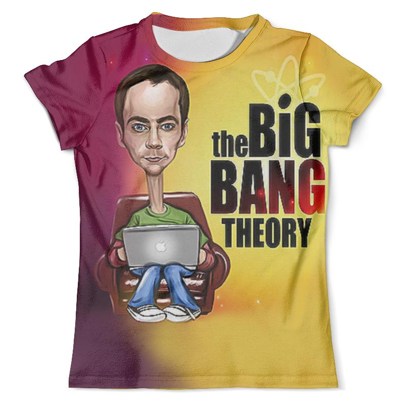 Фото - Футболка с полной запечаткой (мужская) Printio The big bang theory (1) сумка printio the big bang theory