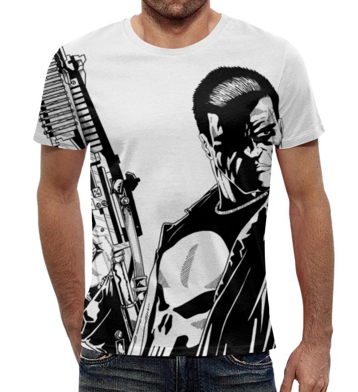 Футболка с полной запечаткой Printio Каратель (the punisher) футболка с полной запечаткой printio punisher of the future terminator 1