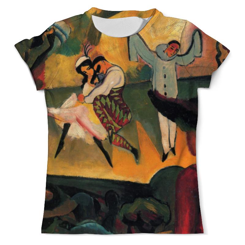 Футболка с полной запечаткой (мужская) Printio Русский балет (август маке) футболка с полной запечаткой женская printio парусник в тегернзее август маке