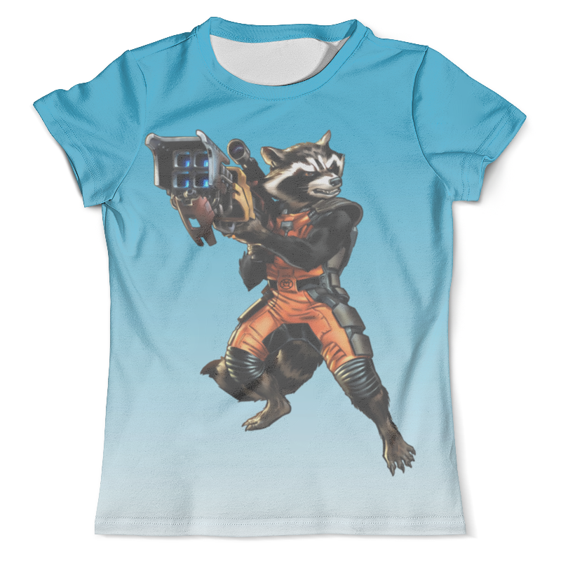 Футболка с полной запечаткой (мужская) Printio Guardians of the galaxy (1) футболка с полной запечаткой мужская printio until the end of the world