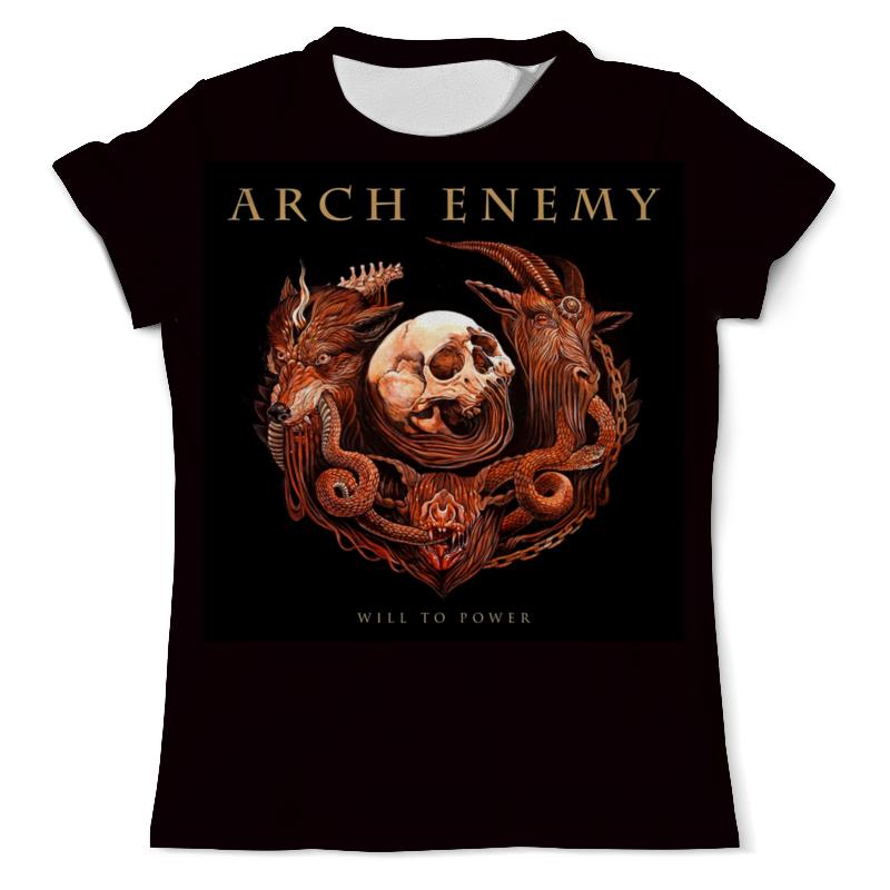Футболка с полной запечаткой (мужская) Printio Arch enemy arch enemy