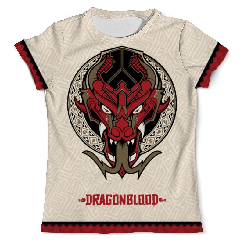 Футболка с полной запечаткой (мужская) Printio Defqon 1 dragonblood футболка wearcraft premium printio defqon 1 dragonblood