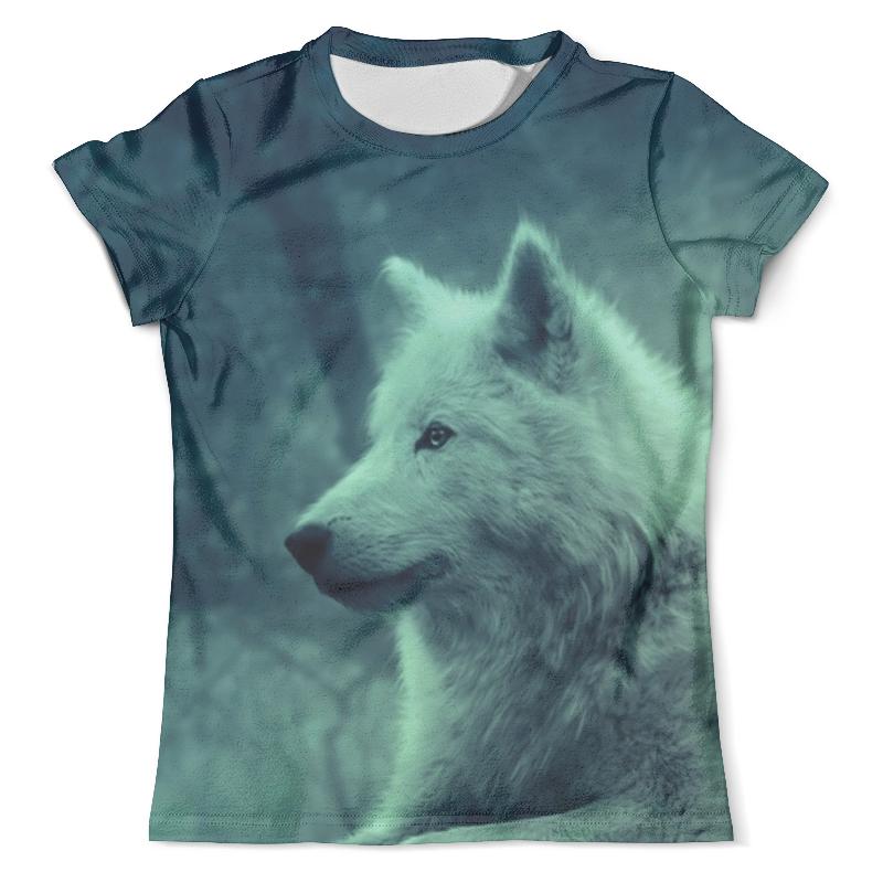 Футболка с полной запечаткой (мужская) Printio Коллекция north star - волк футболка с полной запечаткой мужская printio красная шапочка и серый волк
