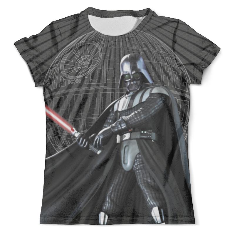 Футболка с полной запечаткой (мужская) Printio Star wars design (darth vader) футболка с полной запечаткой мужская printio darth vader auto design