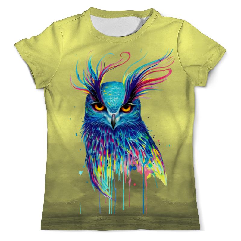Printio Ночная птичка футболка с полной запечаткой мужская printio ночная птичка