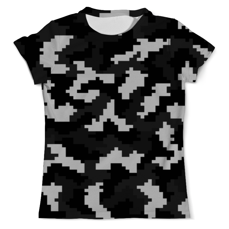 Футболка с полной запечаткой (мужская) Printio Camouflage xintown camouflage winter long sleeved