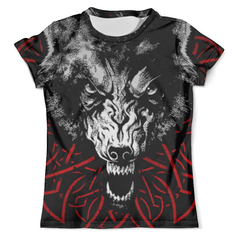 Футболка с полной запечаткой (мужская) Printio Волk!!! футболка с полной запечаткой мужская printio красная шапочка и серый волк 3