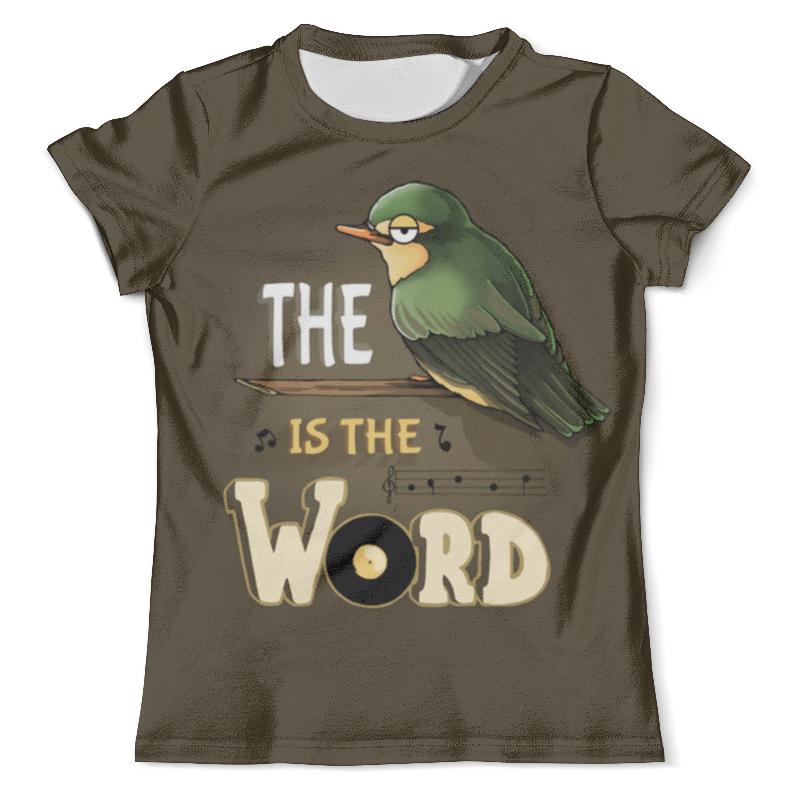 Футболка с полной запечаткой (мужская) Printio Птичка футболка с полной запечаткой для мальчиков printio птичка