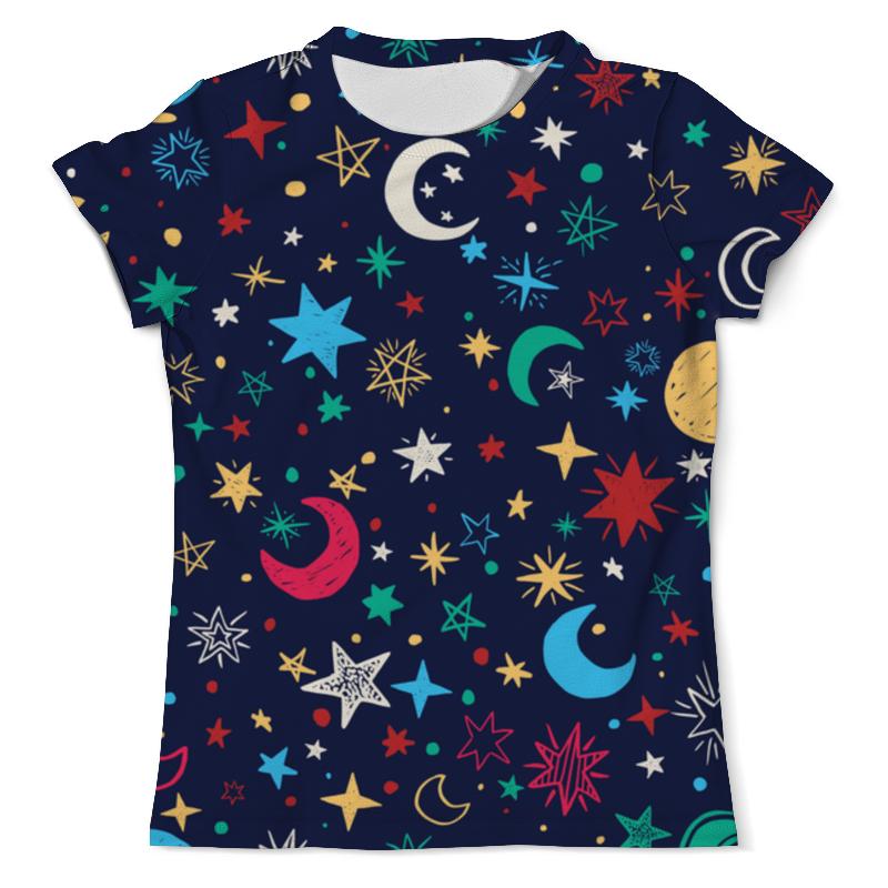 Футболка с полной запечаткой (мужская) Printio Звёздное небо свитшот унисекс с полной запечаткой printio звёздное небо