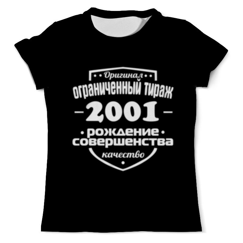 Футболка с полной запечаткой (мужская) Printio Ограниченный тираж 2001 футболка с полной запечаткой мужская printio ограниченный тираж 1985