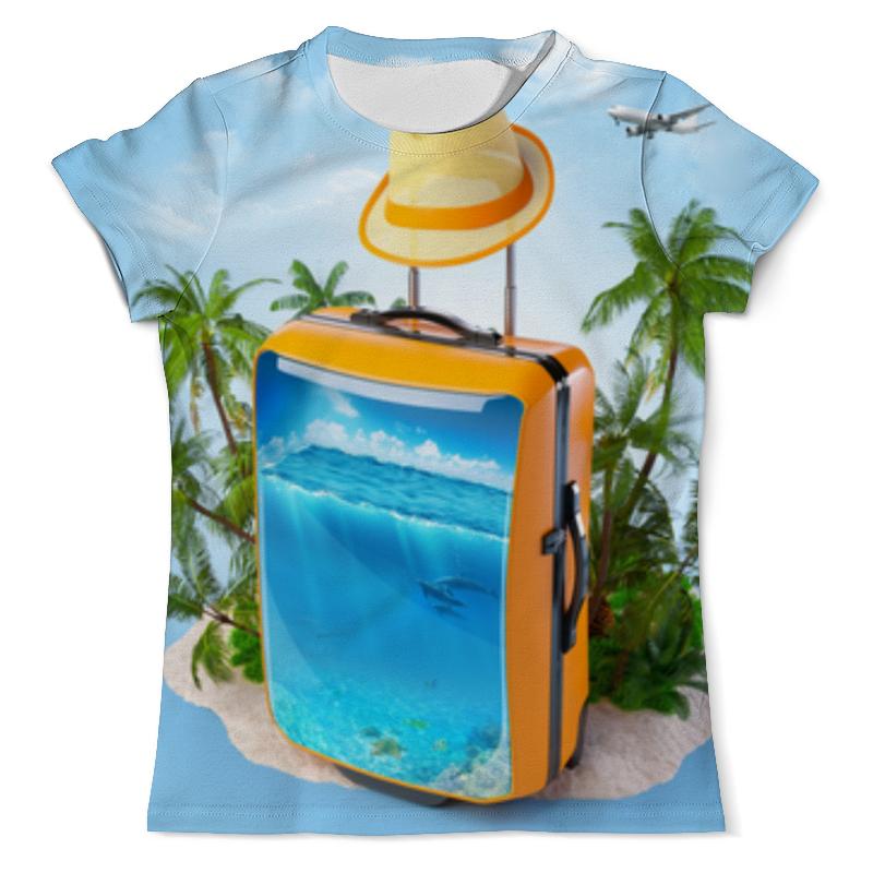 Футболка с полной запечаткой (мужская) Printio Отдых футболка с полной запечаткой женская printio на отдых