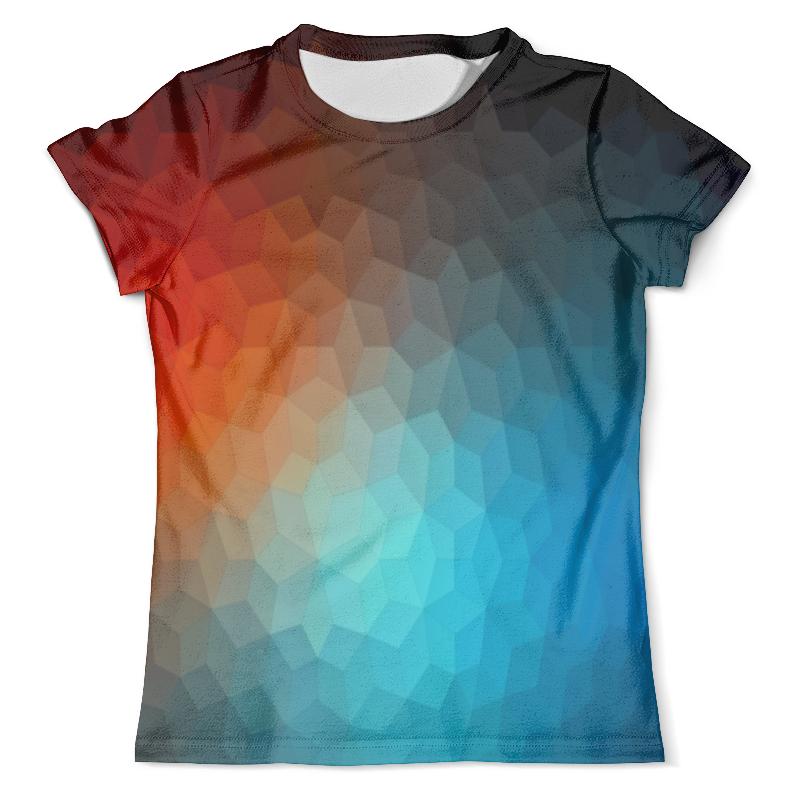 Футболка с полной запечаткой (мужская) Printio Polygon color футболка с полной запечаткой мужская printio color
