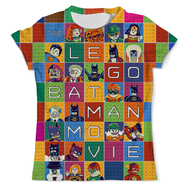 Футболка с полной запечаткой (мужская) Printio The lego batman movie футболка с полной запечаткой мужская printio batman gives you the finger