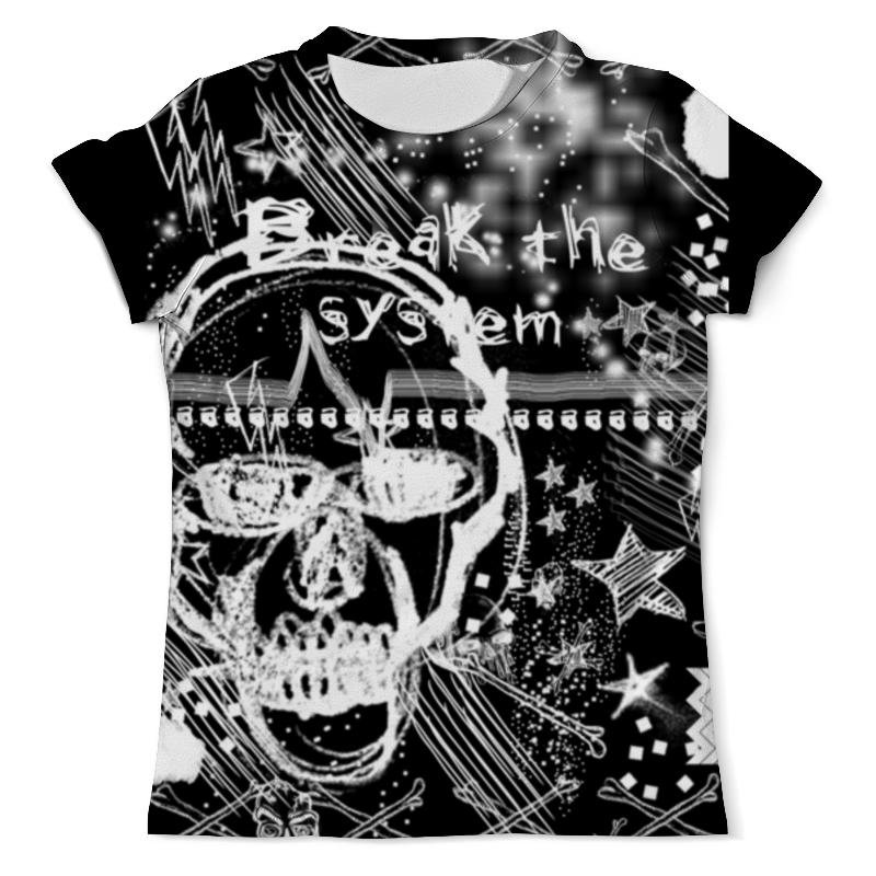 Футболка с полной запечаткой (мужская) Printio Гранж/grunge grunge john orchestra explosion хлопковая куртка худи бирюзового цвета