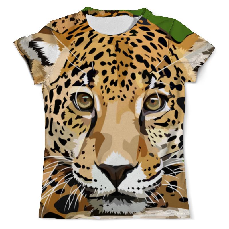 Printio Леопард футболка с полной запечаткой мужская printio леопард
