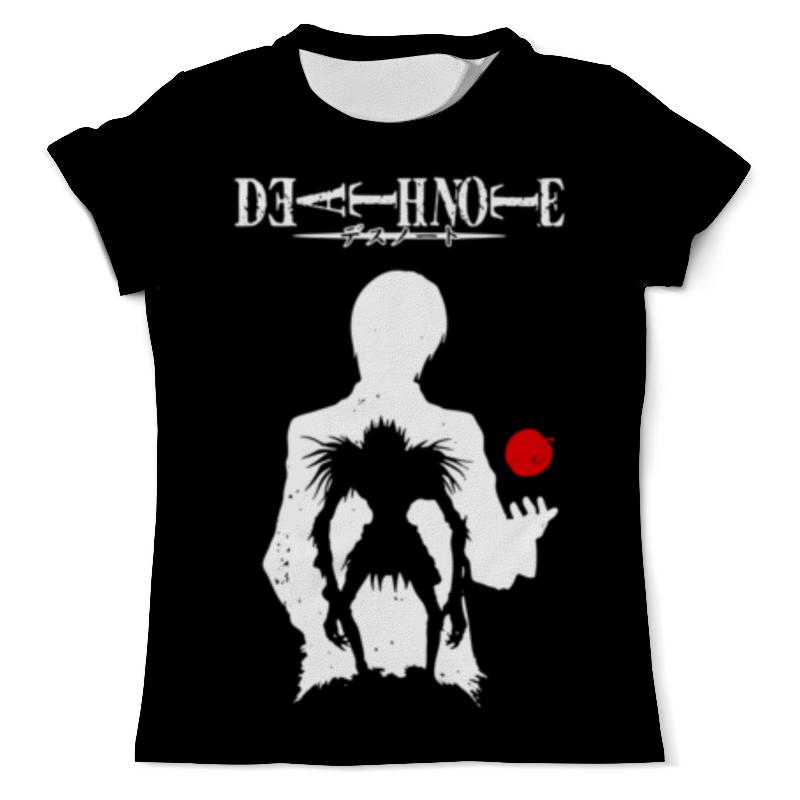 Футболка с полной запечаткой (мужская) Printio Тетрадь смерти футболка с полной запечаткой мужская printio встреча смерти