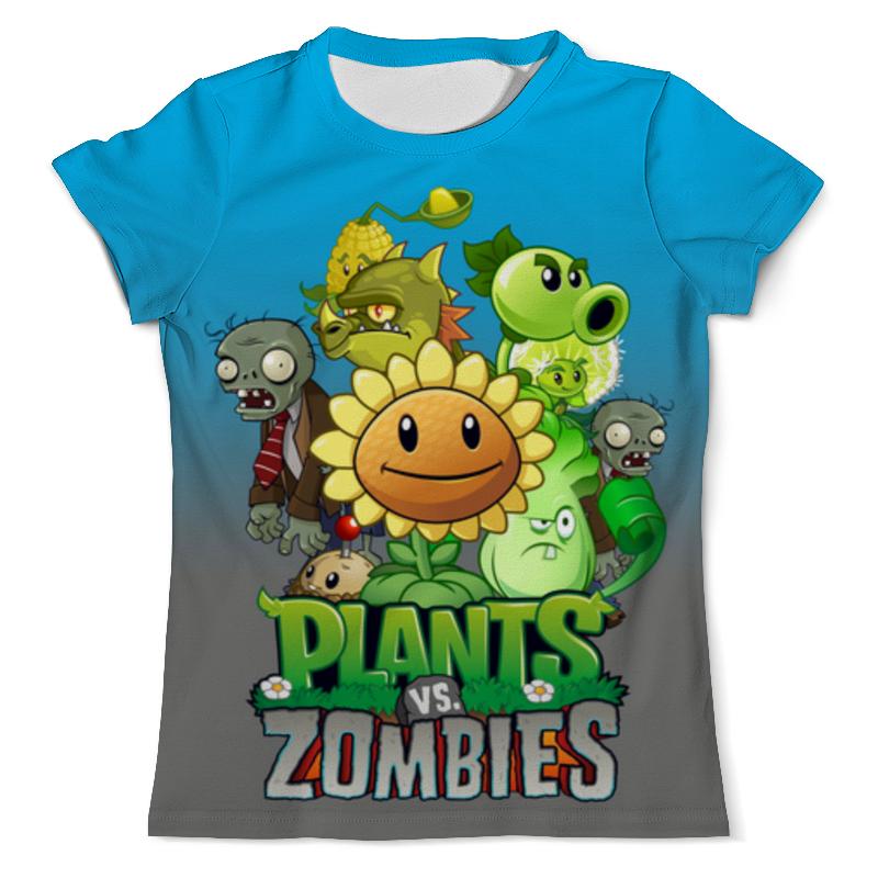 все цены на Футболка с полной запечаткой (мужская) Printio Plants vs. zombies