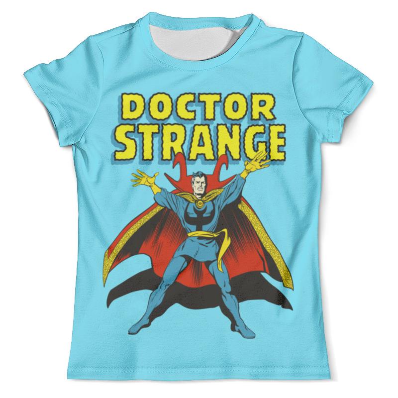 Футболка с полной запечаткой (мужская) Printio Доктор стрэндж футболка с полной запечаткой для девочек printio доктор стрэндж