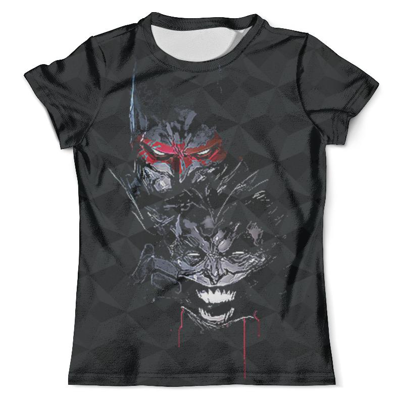 Футболка с полной запечаткой (мужская) Printio Batman vs the joker футболка с полной запечаткой для девочек printio smile batman vs joker