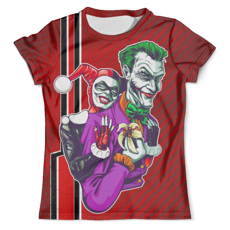 Фото - Футболка с полной запечаткой (мужская) Printio Harley quinn & the joker design футболка с полной запечаткой мужская printio the joker design new