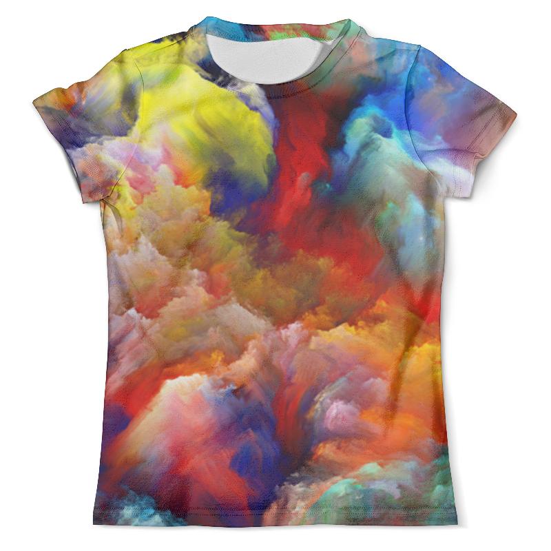 Футболка с полной запечаткой (мужская) Printio Color explosion футболка мужская ling feng color lf6651 lfcolor