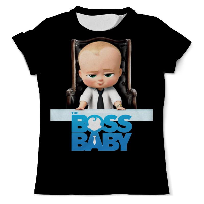 Футболка с полной запечаткой (мужская) Printio Босс-молокосос / the boss baby