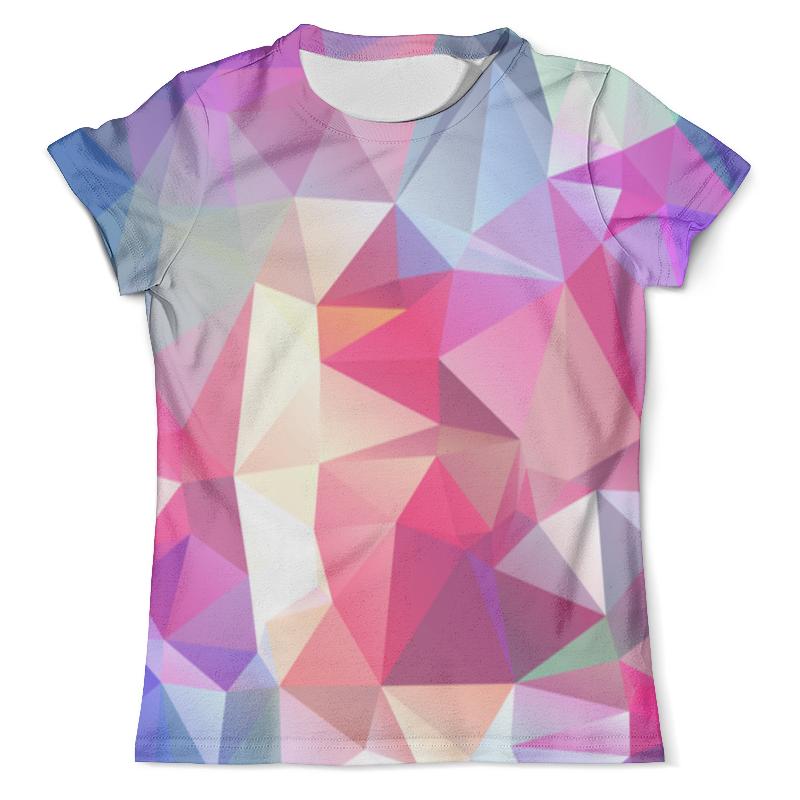 Футболка с полной запечаткой (мужская) Printio Polygon свитшот print bar gray polygon