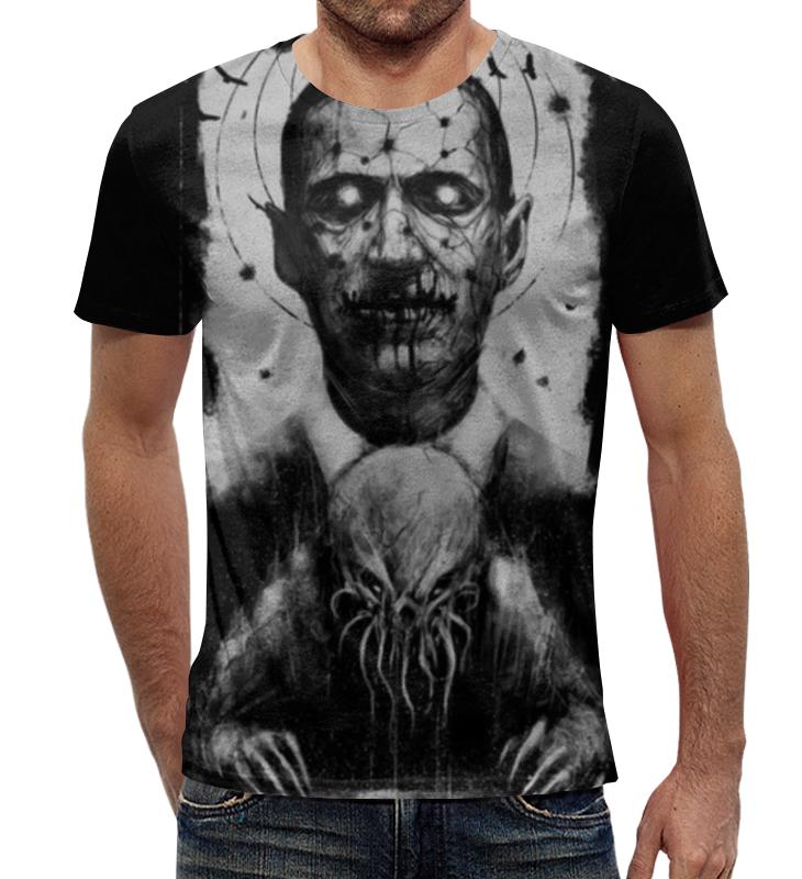 Футболка с полной запечаткой Printio Лавкрафт ( lovecraft ) футболка с полной запечаткой printio лавкрафт lovecraft
