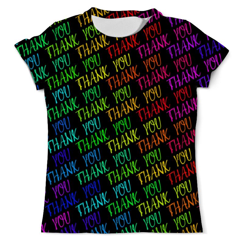 Футболка с полной запечаткой (мужская) Printio Thank you футболка с полной запечаткой мужская printio thank you