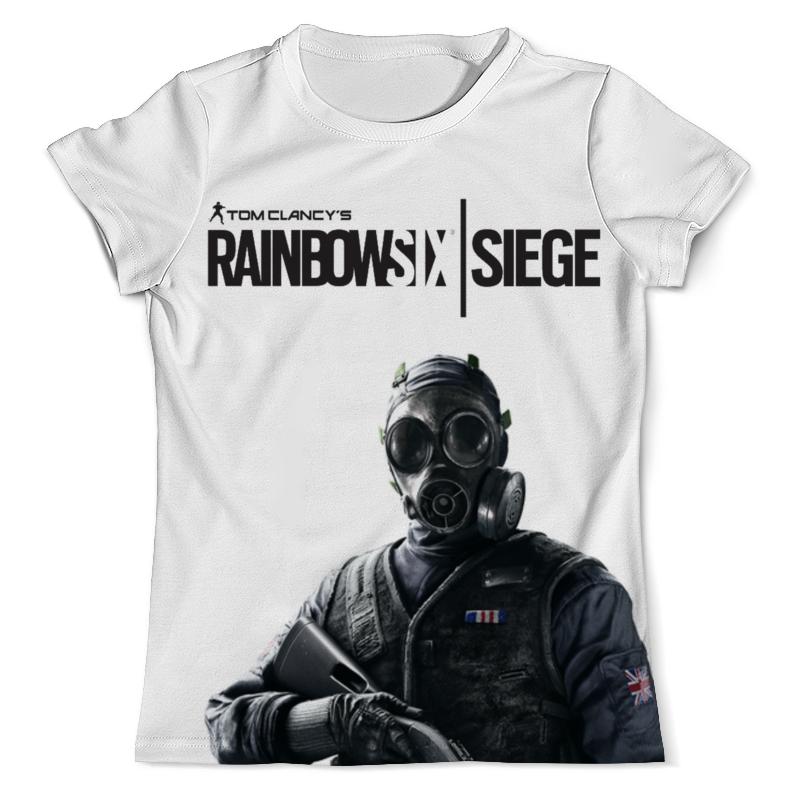 Футболка с полной запечаткой (мужская) Printio Rainbow six футболка с полной запечаткой для мальчиков printio штурм спецназа rainbow six