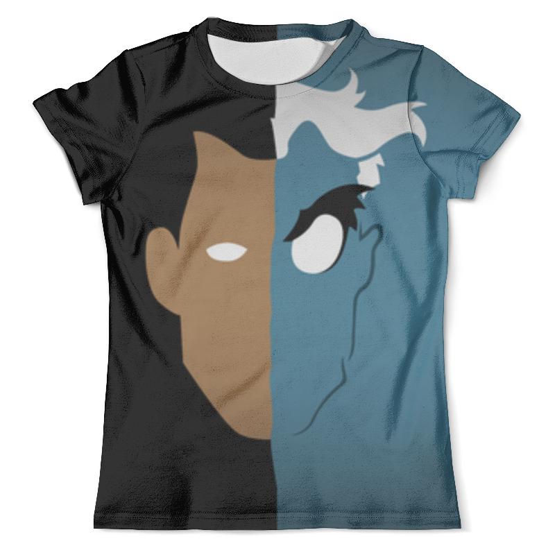 Футболка с полной запечаткой (мужская) Printio Двуликий футболка с полной запечаткой мужская printio harvey dent two face