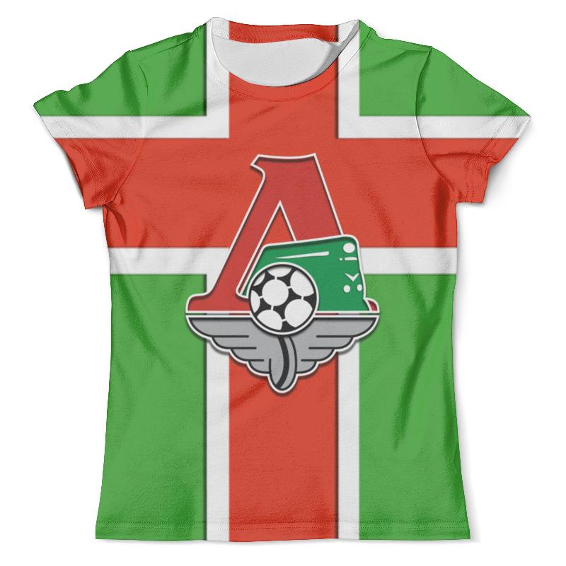 Printio Локомотив 3d (москва) футболка с полной запечаткой мужская printio тигр 3d