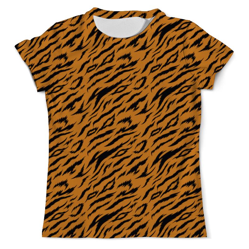 Printio Тигриный окрас футболка с полной запечаткой мужская printio тигр 3d