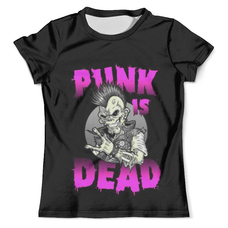 Футболка с полной запечаткой (мужская) Printio Punk is dead surf is dead футболка