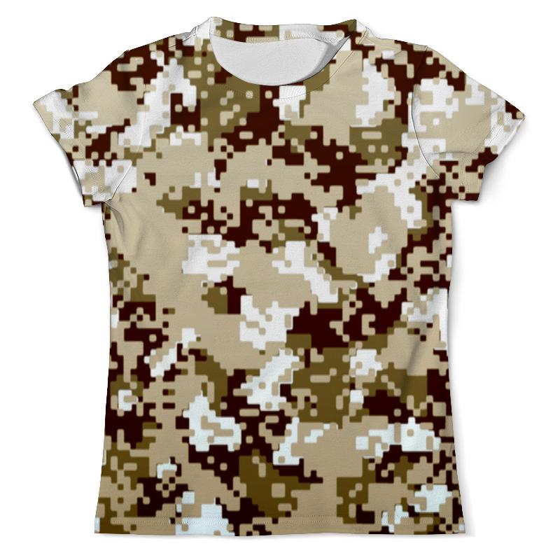 Футболка с полной запечаткой (мужская) Printio Полевой камуфляж футболка с полной запечаткой мужская printio яркий камуфляж