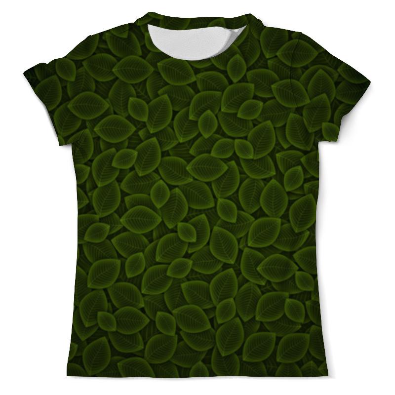 Printio Листья футболка с полной запечаткой мужская printio эзотерика природы