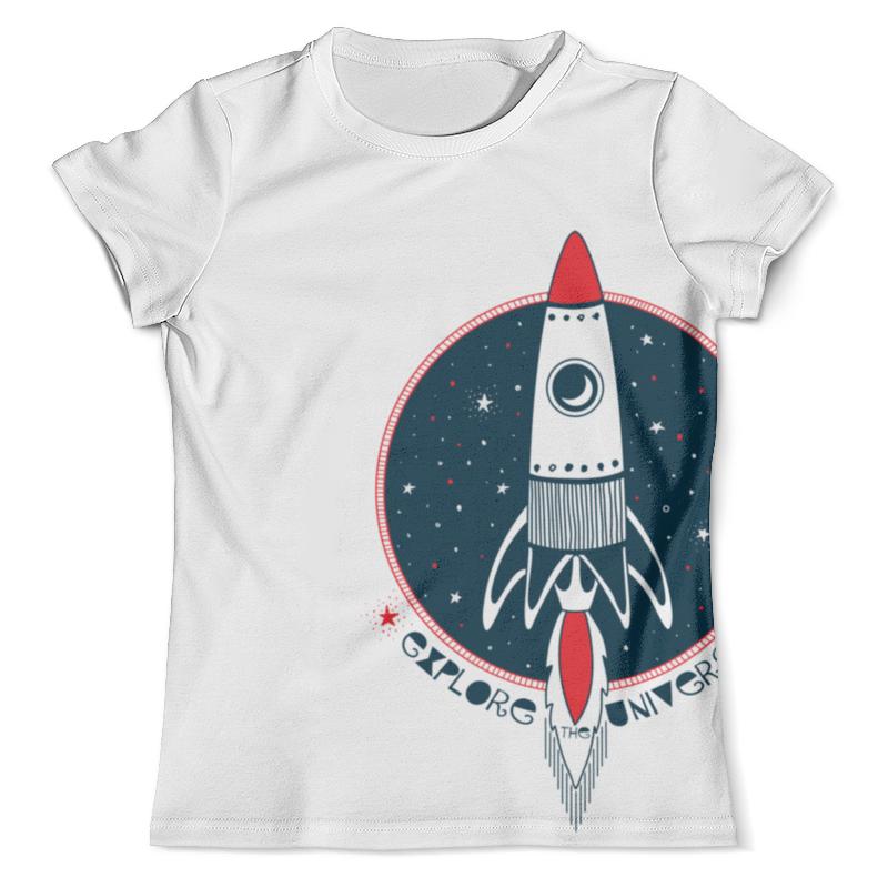 Фото - Футболка с полной запечаткой (мужская) Printio Ракета футболка с полной запечаткой для девочек printio ракета