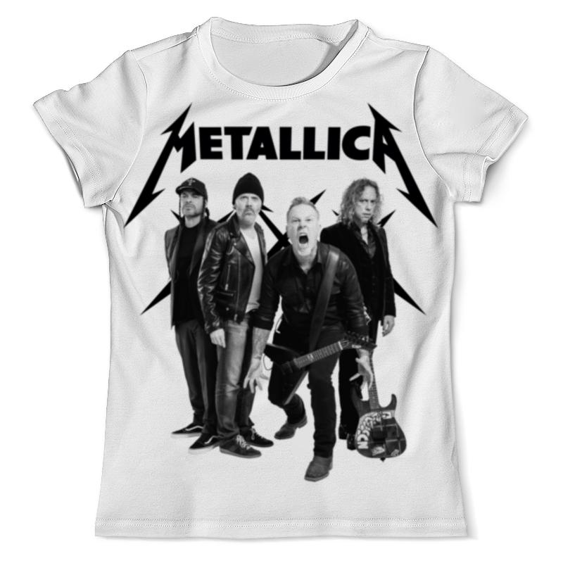 купить Футболка с полной запечаткой (мужская) Printio Metallica недорого