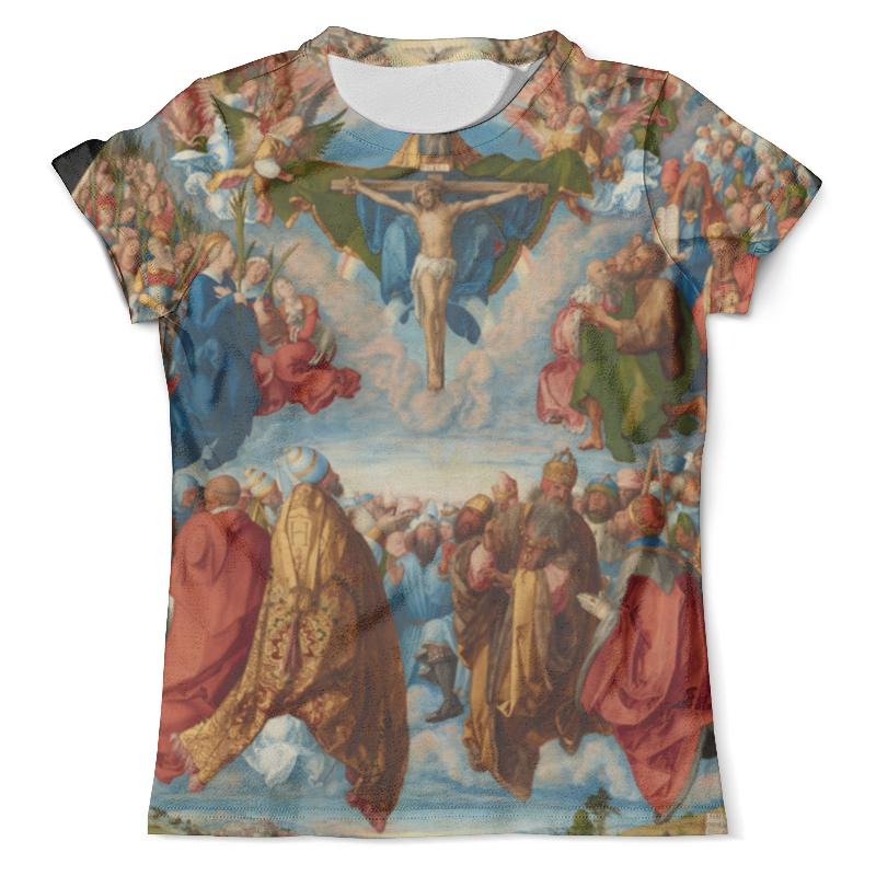 Футболка с полной запечаткой (мужская) Printio Поклонение святой троице (альбрехт дюрер) футболка с полной запечаткой мужская printio важнейшее из искусств винтаж