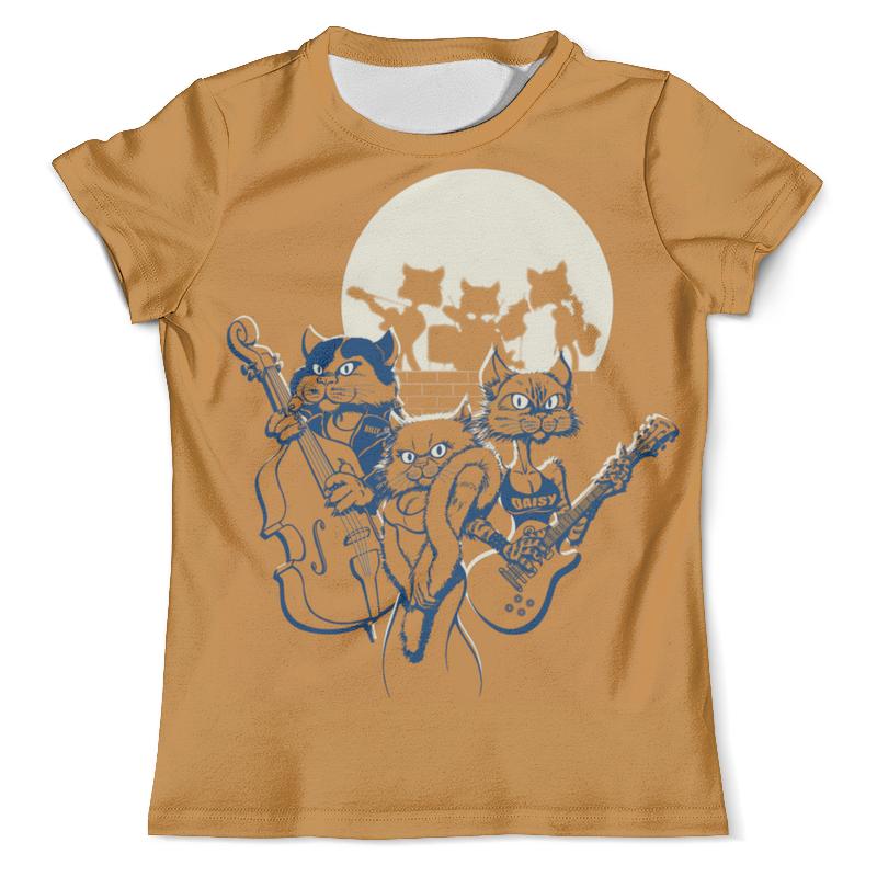 Фото - Футболка с полной запечаткой (мужская) Printio Кошачий концерт футболка с полной запечаткой женская printio кошачий концерт
