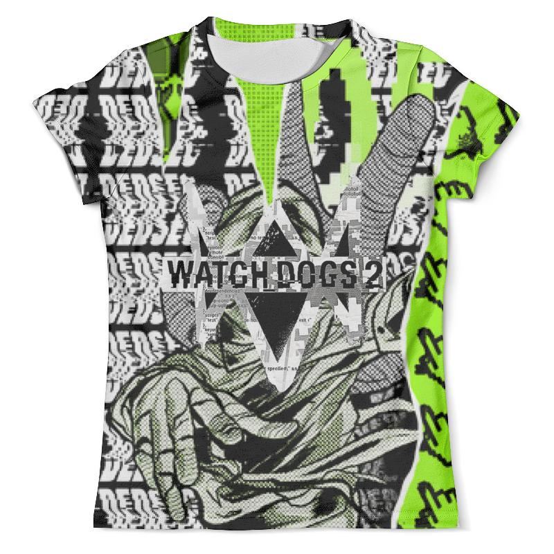Футболка с полной запечаткой (мужская) Printio Watch dogs 2 футболка с полной запечаткой мужская printio watch dogs 2