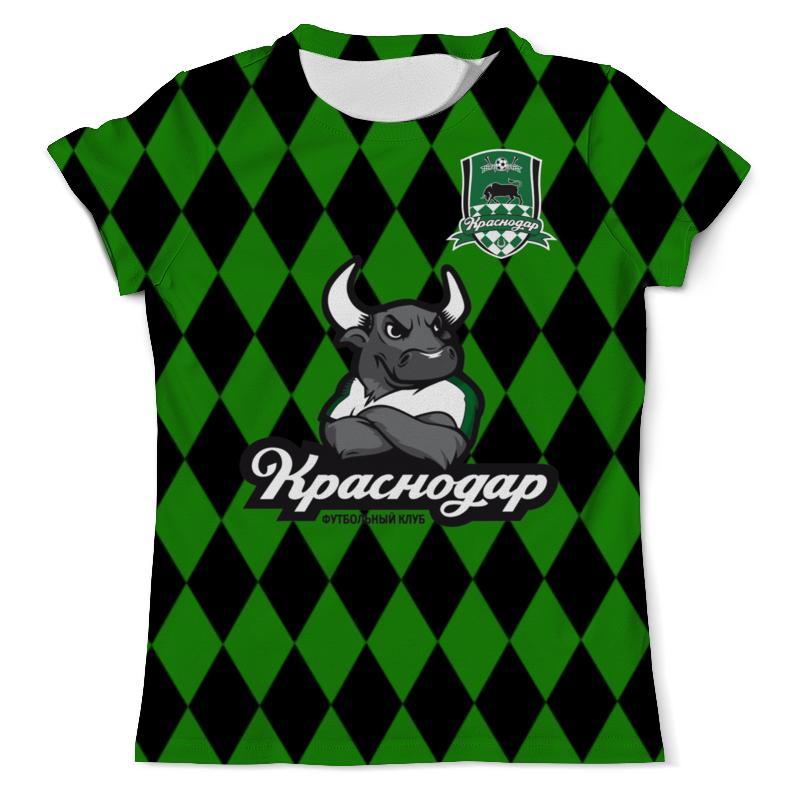 Футболка с полной запечаткой (мужская) Printio Краснодар пфк футболка с полной запечаткой мужская printio терек пфк
