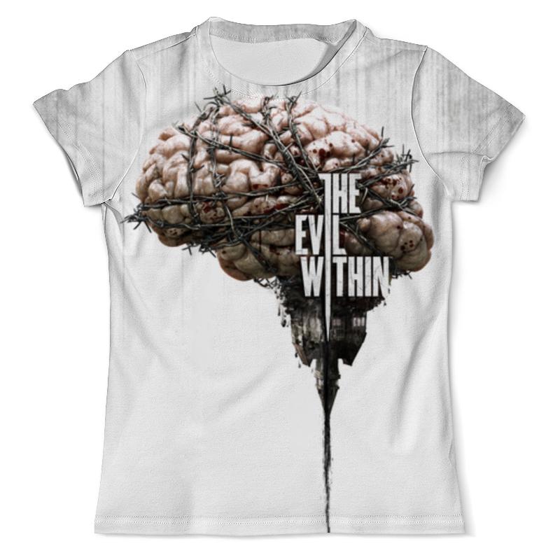 Printio The evil within футболка с полной запечаткой мужская printio hear no evil see no evil speak no evil