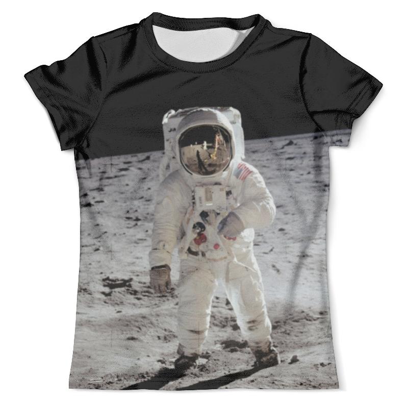 Футболка с полной запечаткой (мужская) Printio Астронавт футболка с полной запечаткой мужская printio фрактальная эзотерика мандалы