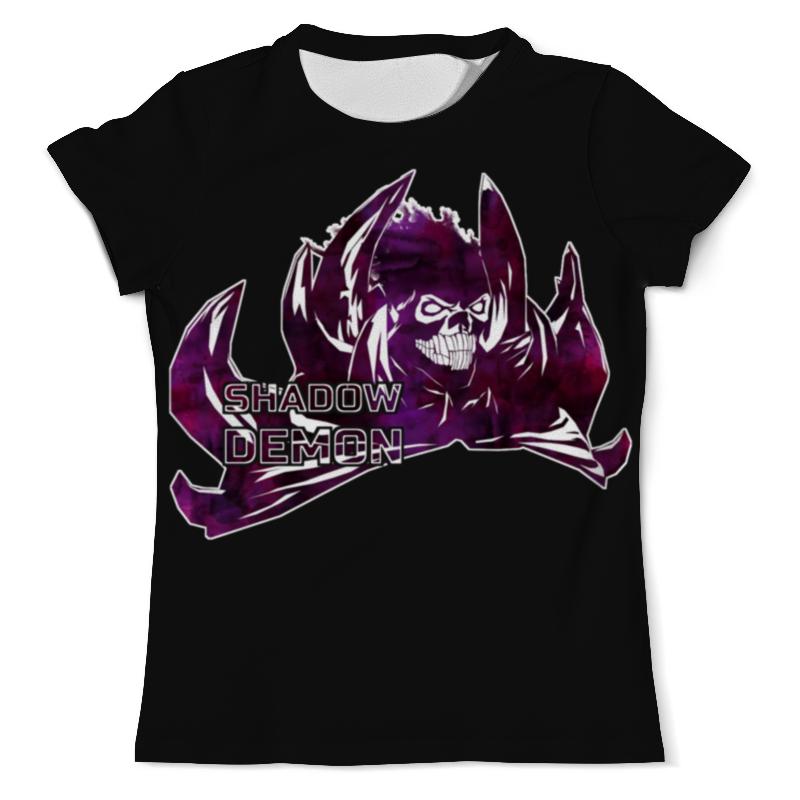 Футболка с полной запечаткой (мужская) Printio Dota 2 - shadow demon футболка с полной запечаткой для девочек printio shadow demon dota 2